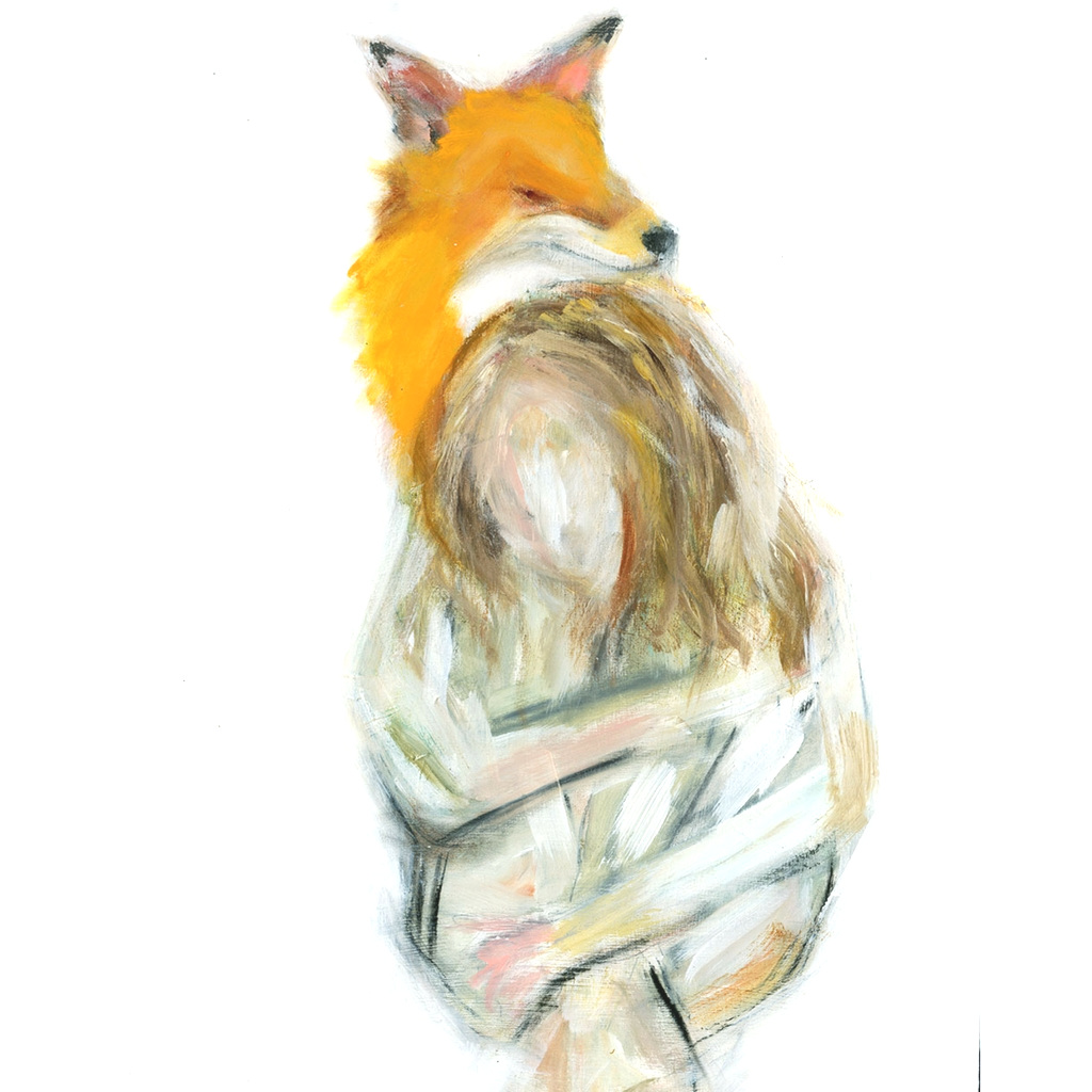 Fox and Woman