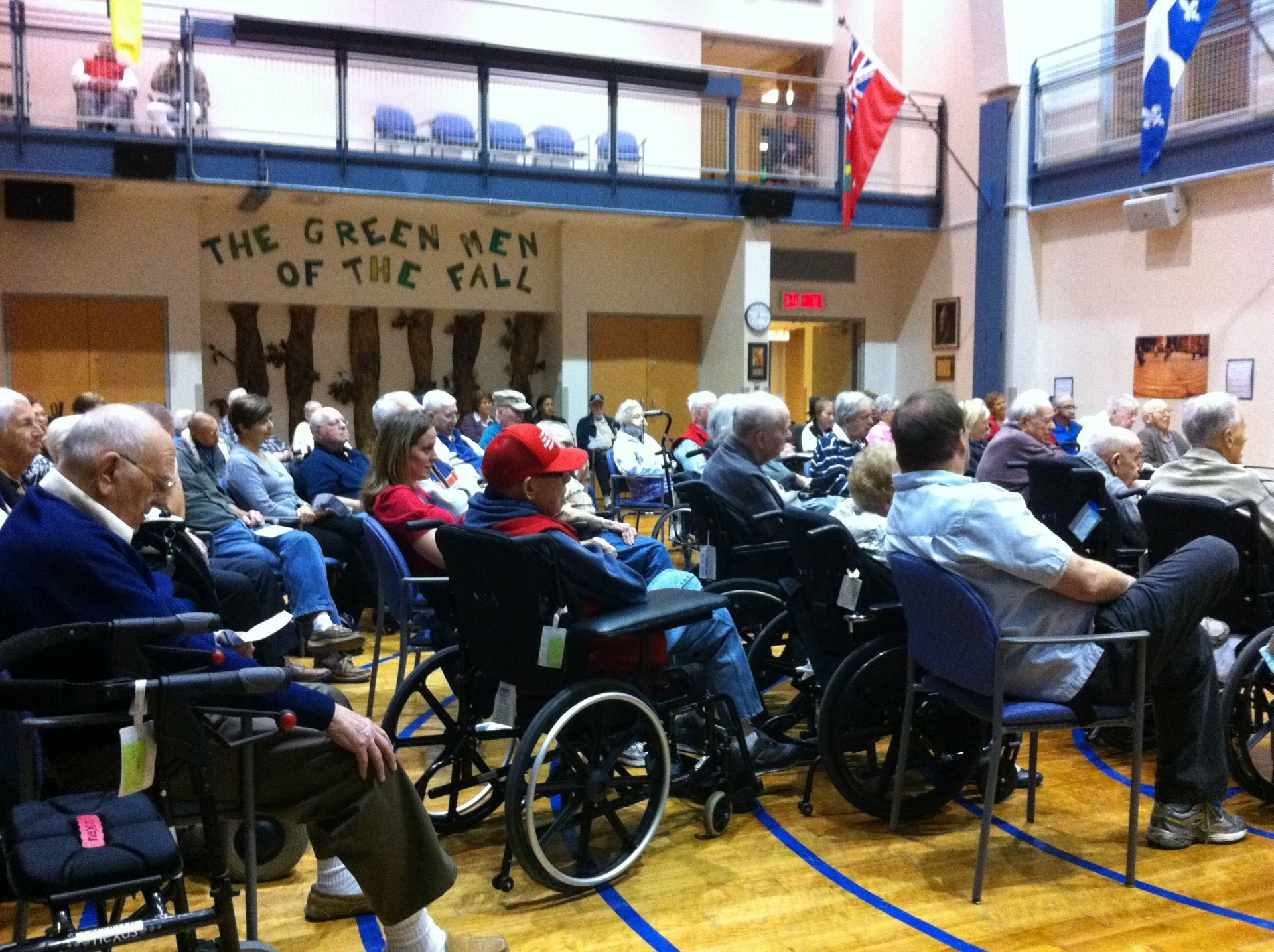 Veterans at Perley-Rideau