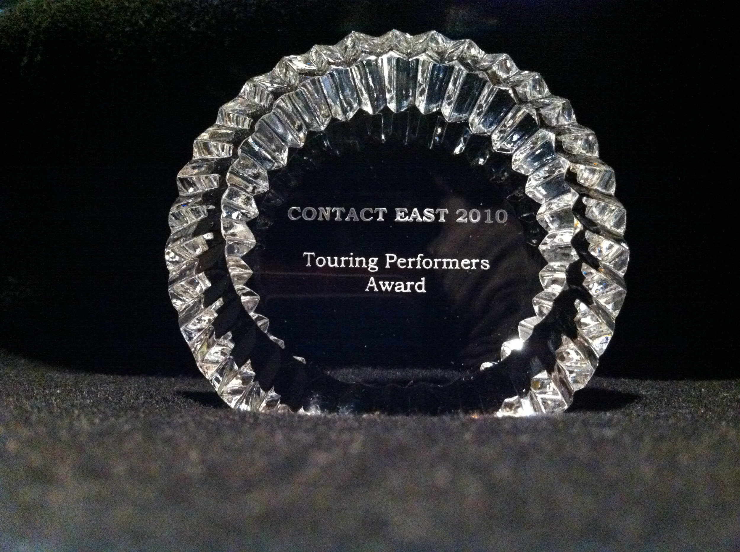 east coast touring award.jpg