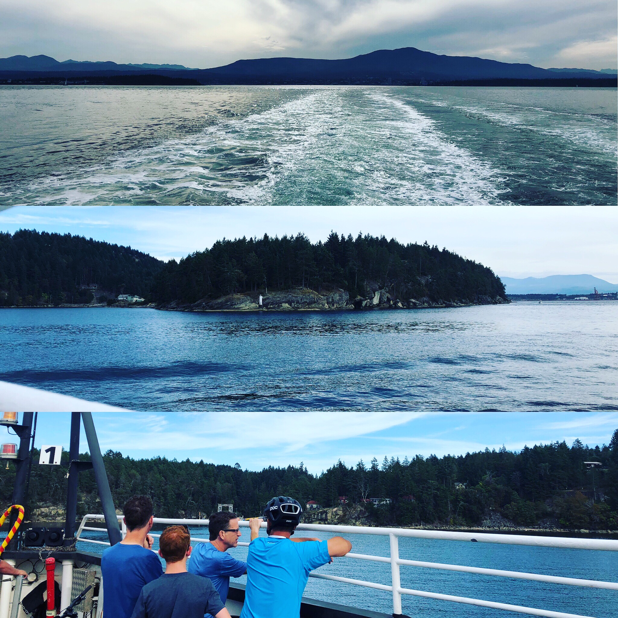 Aug 29 2019 - On our way to Gabriola Island for Cultivate 2019!