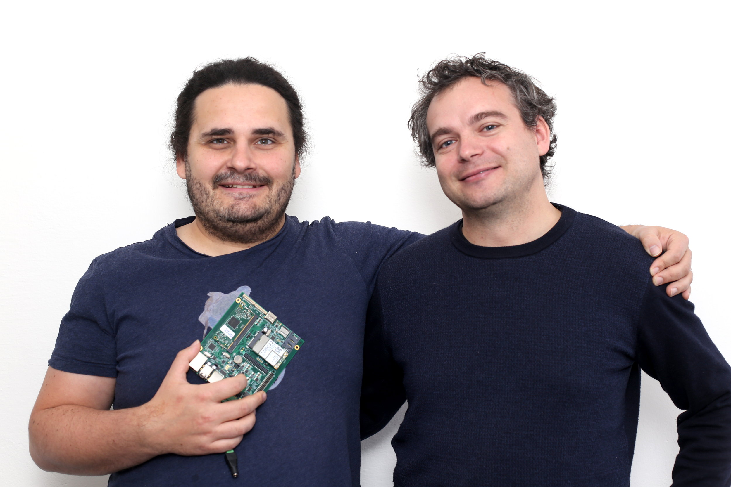 Pavel Klinger and Pavel Konečný from Neuron Soundware