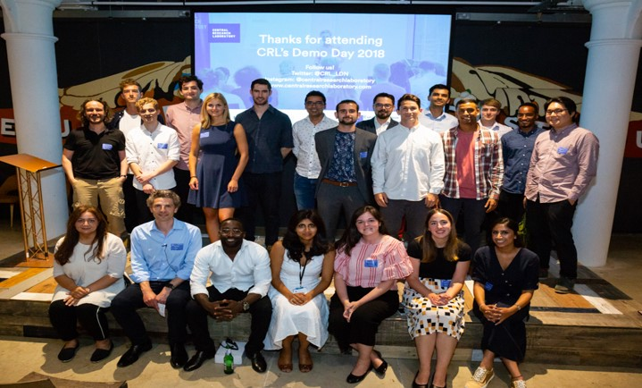 CRL Accelerator Demo Day – LondonWe have been supported by CRL, UK's first hardware accelerator programme