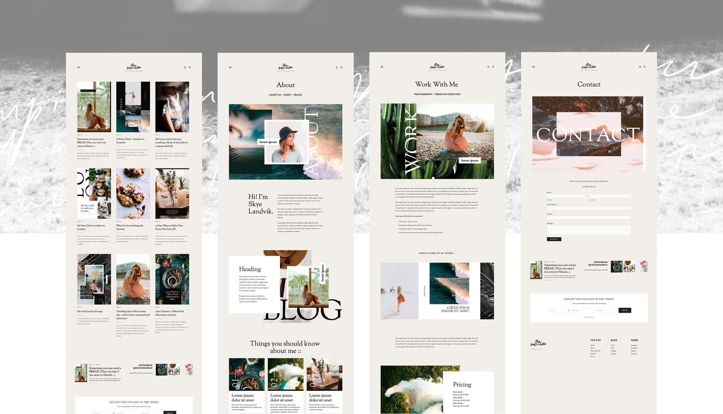 4.jpgThe Basic Bitch – Squarespace Design Kit  Good As Gold Studio   Squarespace Design Kit Templates & DIY Branding