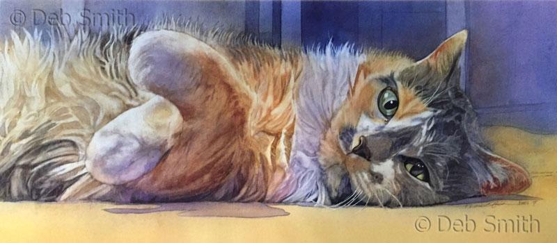 Deb, Debra, Smith, artist, watercolors