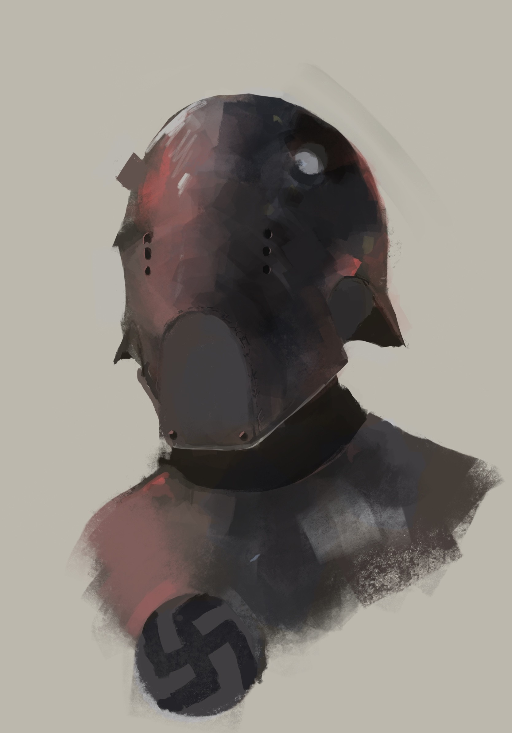 Reichsguard helmet concept,  Hell's Beasts