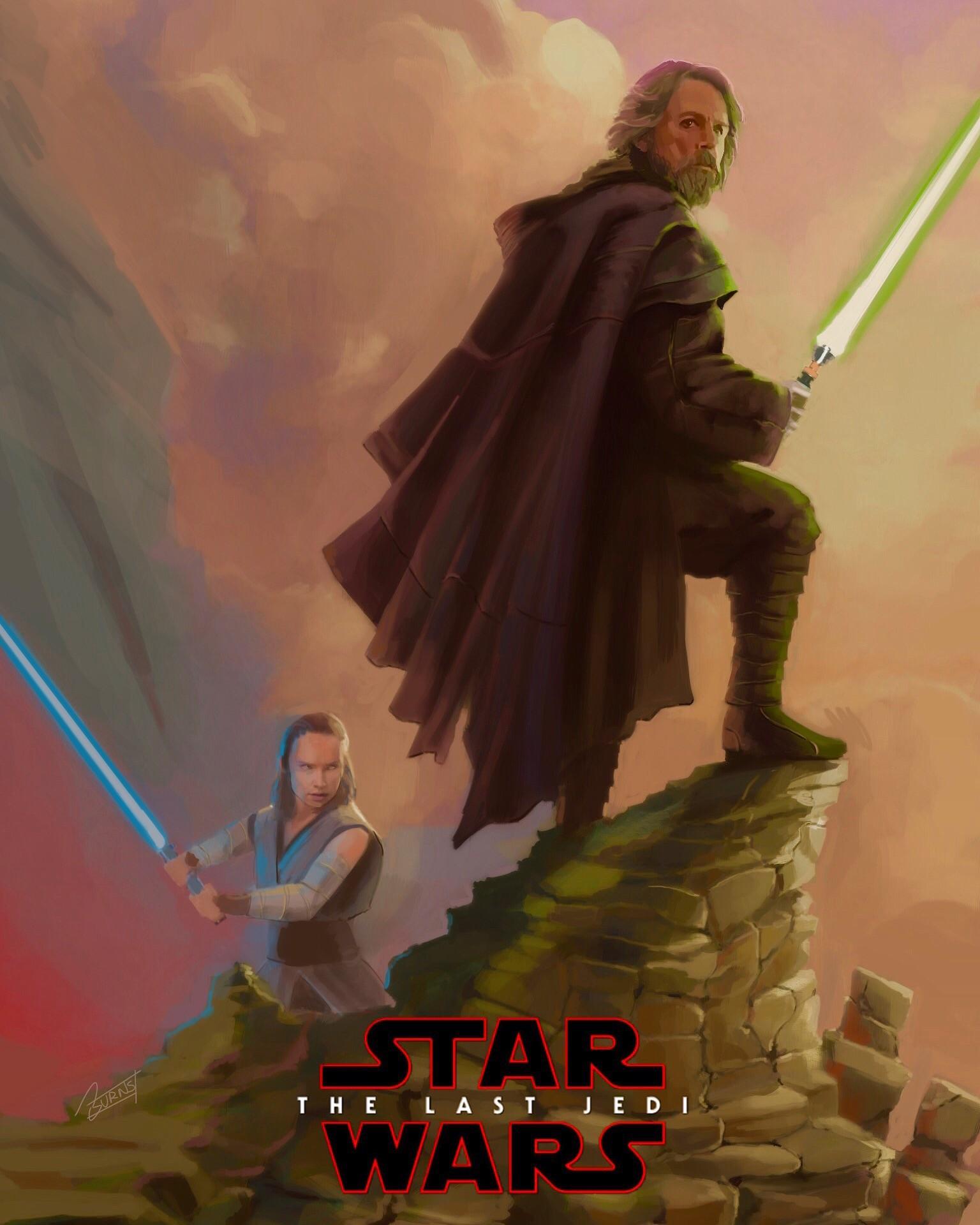 The Last Jedi  poster, 2017