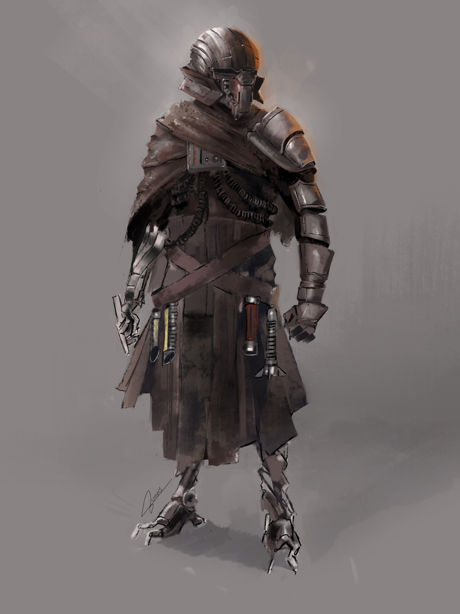 Sith cyborg concept