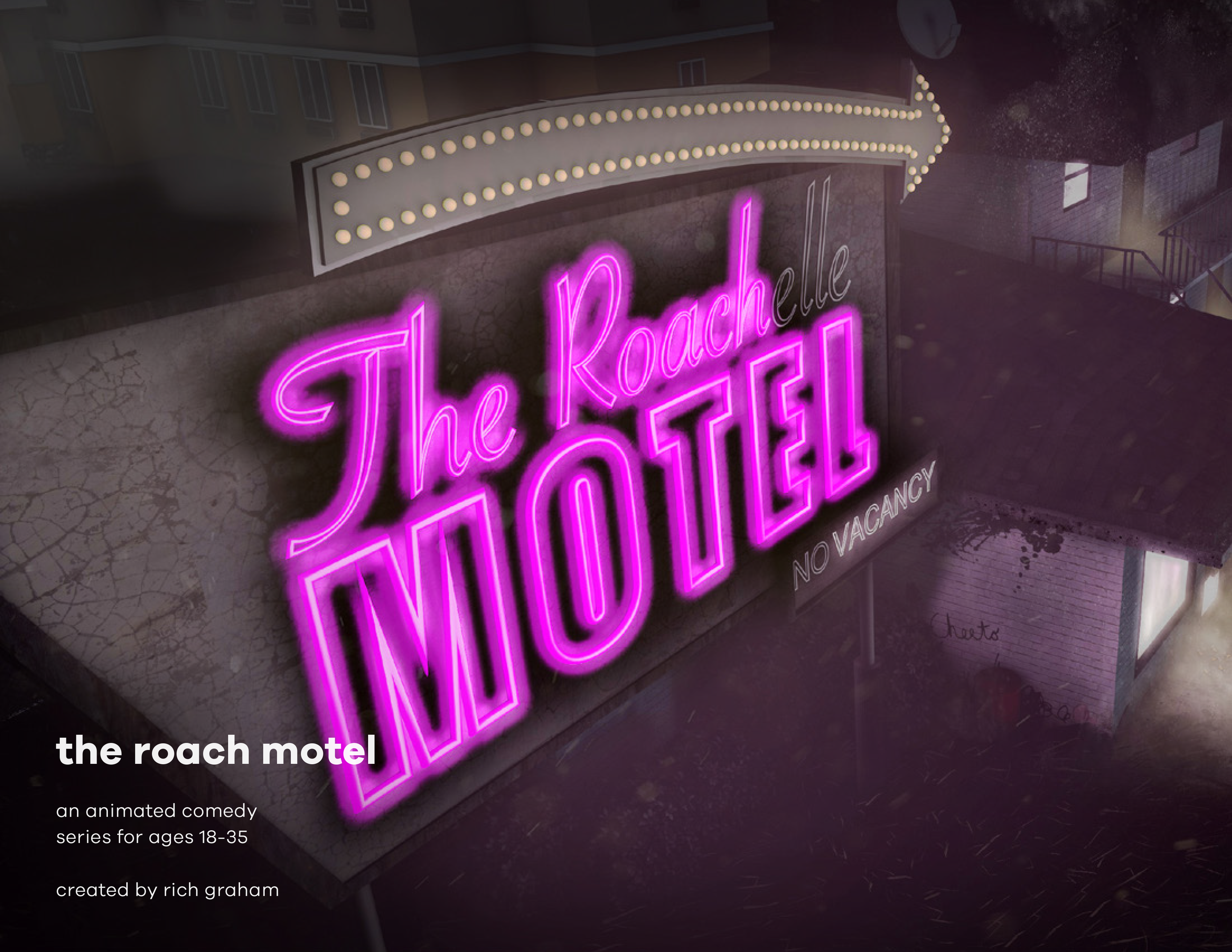THE ROACH MOTEL CHARACTERS
