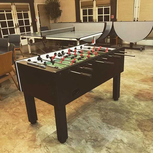 """Nothing like adding a Foosball and a Ping Pong table to give the older kids at a church event something to do. Glad we could accommodate!! Fist thing out of customers mouth was """"I'm so glad you have quality equipment!"""" #tabletennis #foosball #party #partyplanner #eventplanner #weddingplanner"""
