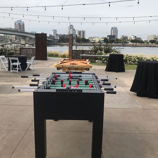 @pdspecialevents always put on a great event. Thanks for having us tonight at 2 of your PROMS. #prom #event #eventplanner #party #partyideas #partyplanner #foosball #billiards #airhockey