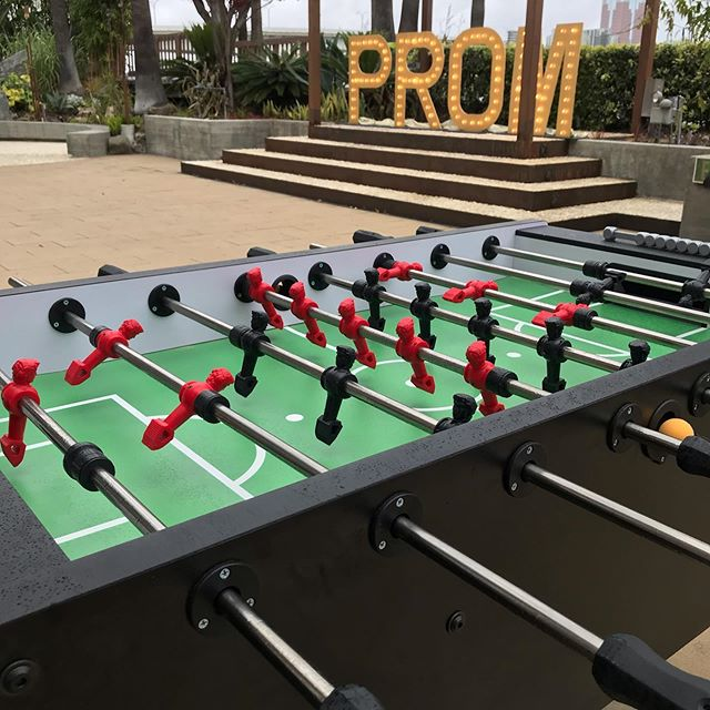 Wrapping up the prom season with @pdspecialevents  We brought Air Hockey, Foosball, Giant Chess, Giant Corn Hole and Giant Jenga.  Inventory is ever growing. If you need something for an event, call us. If we don't have it, we will get it. #event #eventplanner #prom #airhockey #partyplanner #foosball #chess #jenga #cornhole #dance
