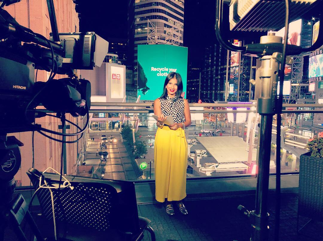 Sheikh is a reporter and weather specialist at CityNews Toronto.  Photo Courtesy of Maleeha Sheikh