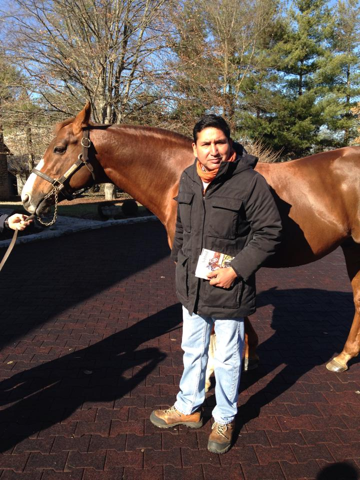 Esteban with the great Giants Causeway