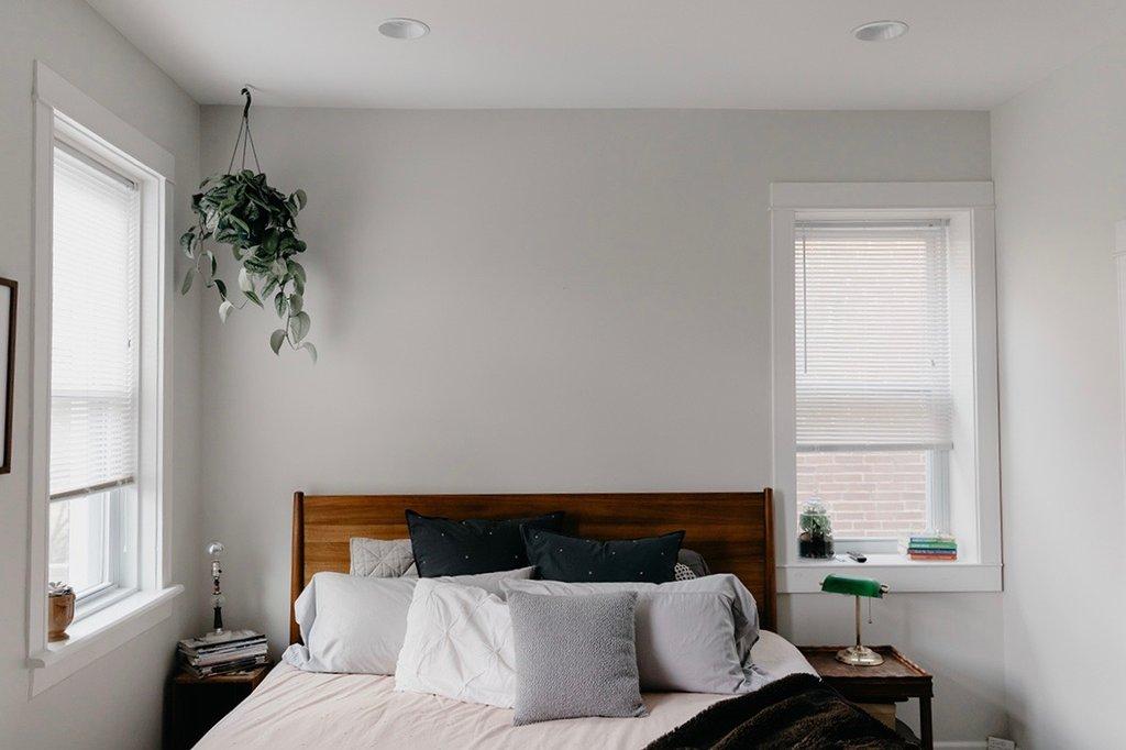 vintage modern bedroom