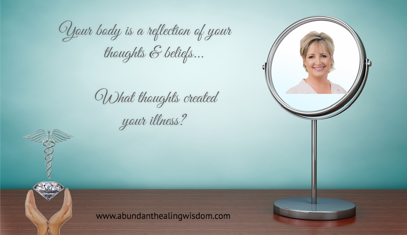 You have the choice and ability to change your thoughts and begin to truely heal…