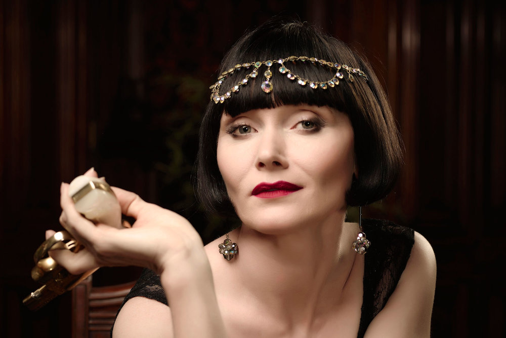 Kerry Greenwood , creator of  Miss Fisher's Murder Mysteries , will headline at Murder She Wrote