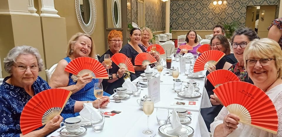 We kicked off our fundraising season with a  Literary Afternoon Tea  at  Hadley's Orient Hotel  in March 2019 to celebrate the release of Sulari Gentill's  All the Tears in China .