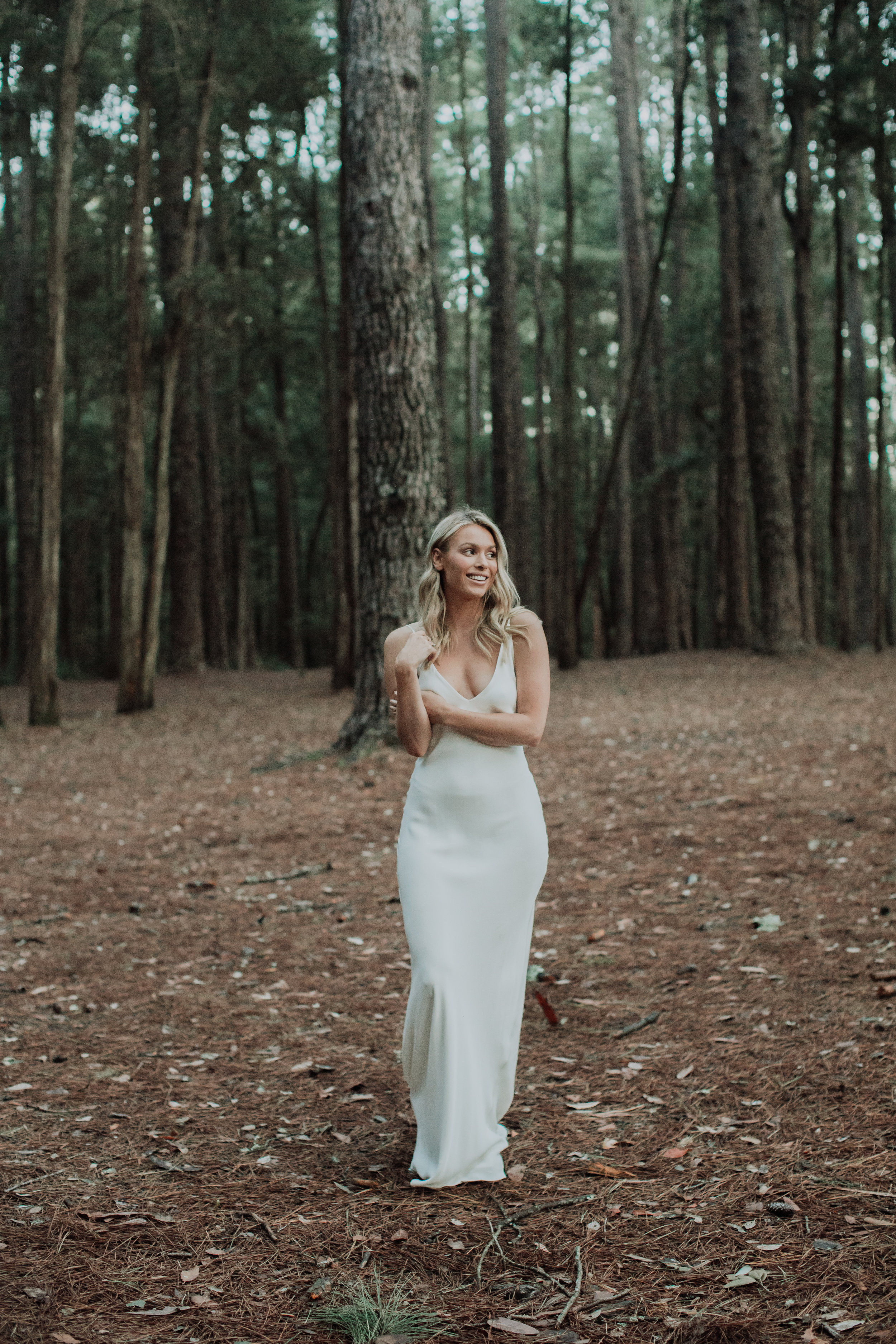 Bride in newcastle hunter valley for wedding styled shoot
