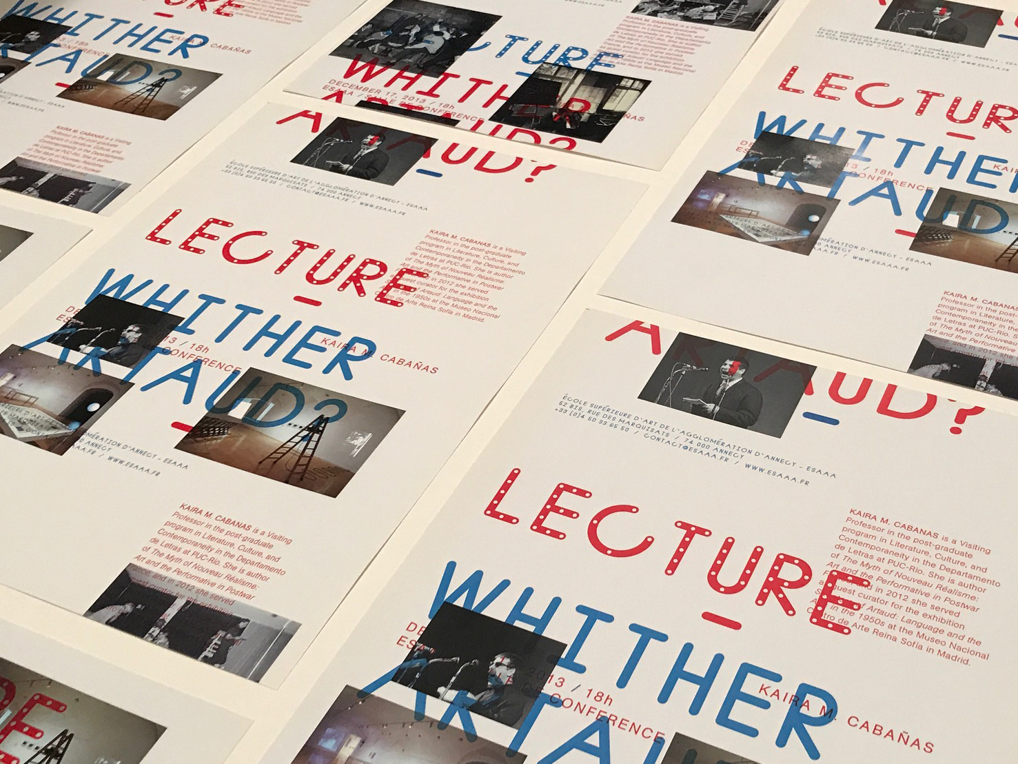 Whither Artaud Poster