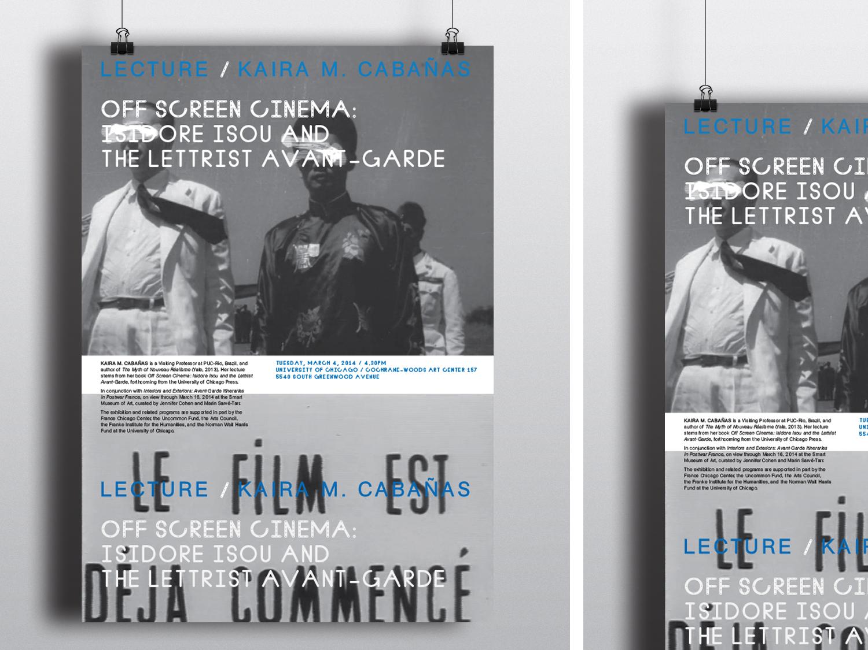 Off Screen Cinema Poster