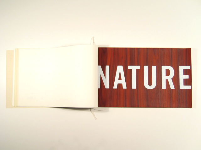 Nature on Nature; mural sample page