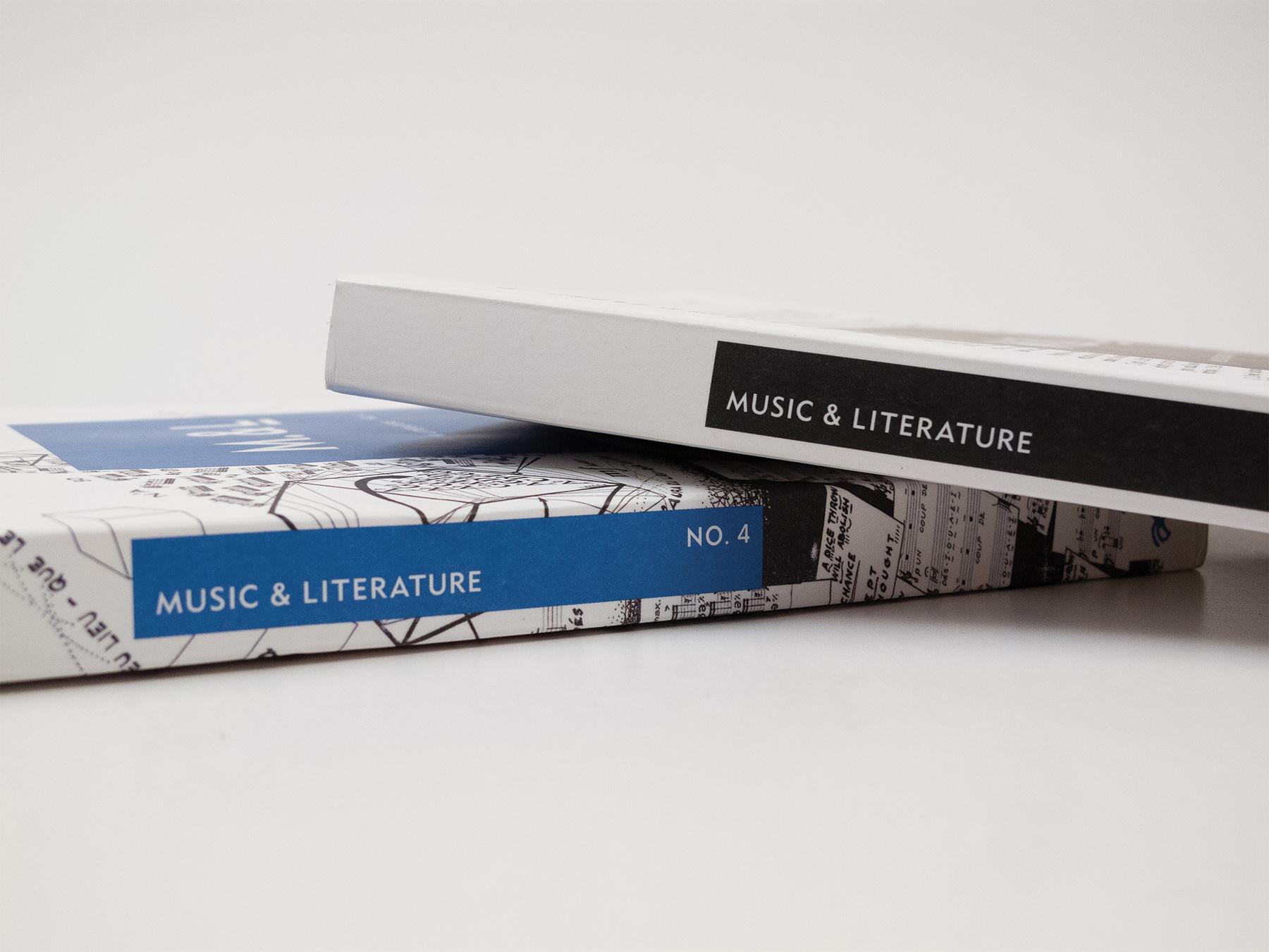 Music & Literature Visual Identity
