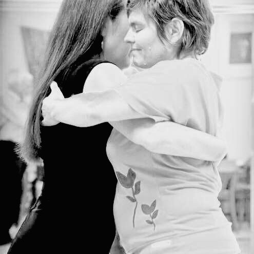 A beautiful tango moment at Saturday Night Tango