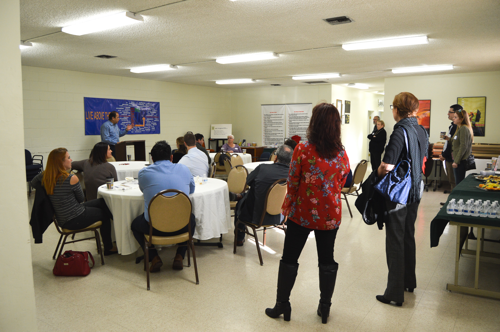 The North County Philanthropy Councils networking event for non-profits