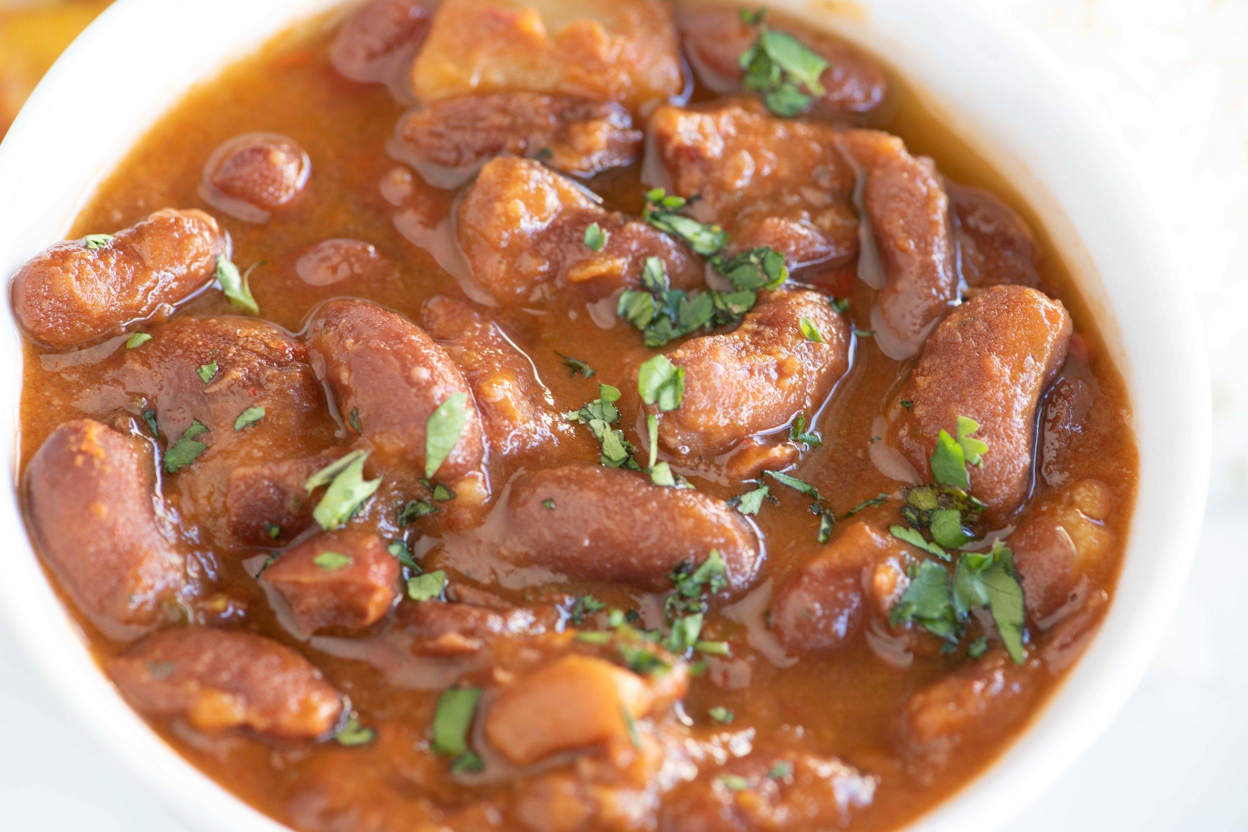 Habichuelas - Stewed Kidney beans