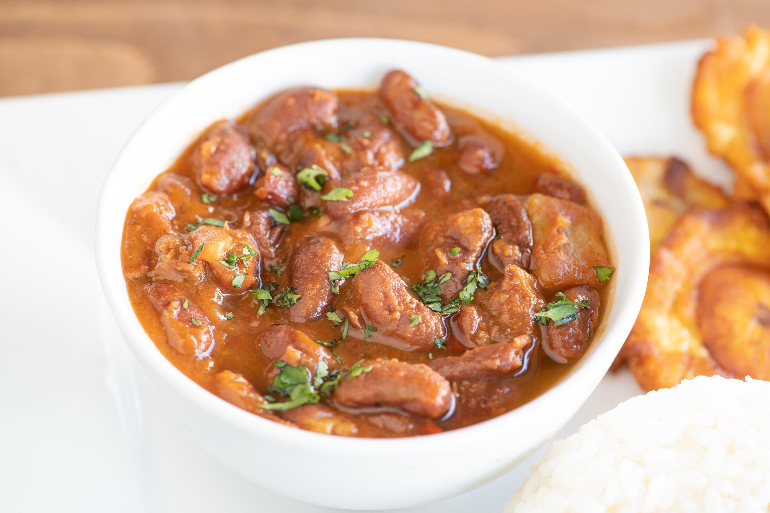 Stewed Red Kidney Beans