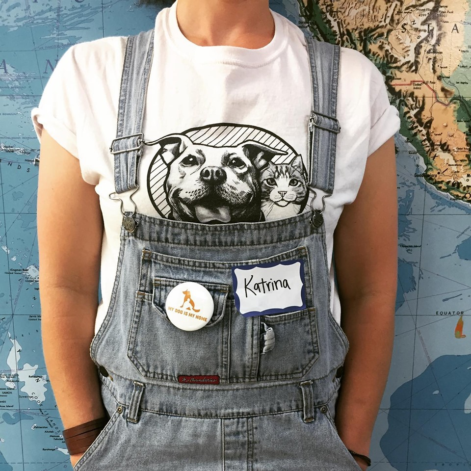 """p.s. Any """"orders"""" placed in October will be shipped in November since our t-shirt handler will be on the other side of the world for a month. Thank you! - p.p.s. Many thanks to our local printer, Six Dog T-Shirt Co., for doing such great work. Bark on!"""