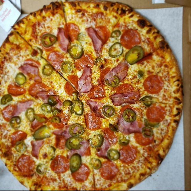 Pizza for lunch anyone? Count us in!