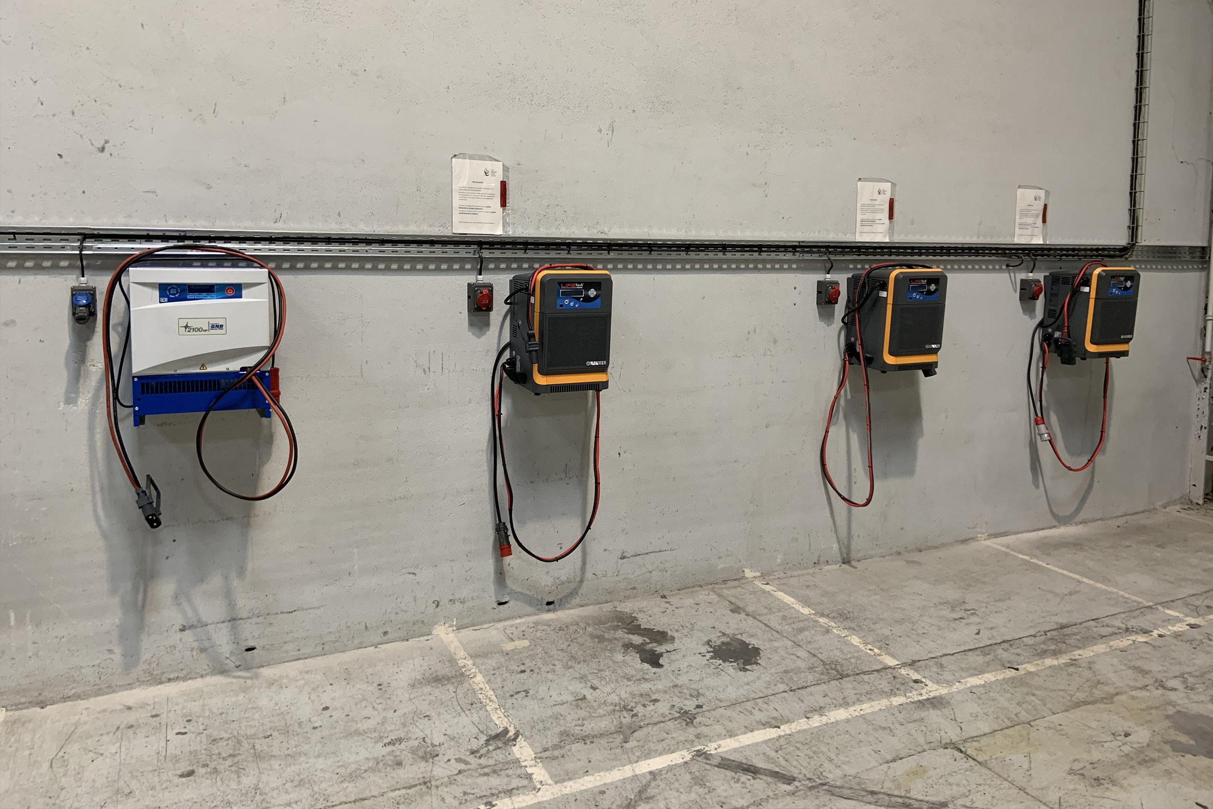 - 100% Electrique : ZONE DE CHARGE