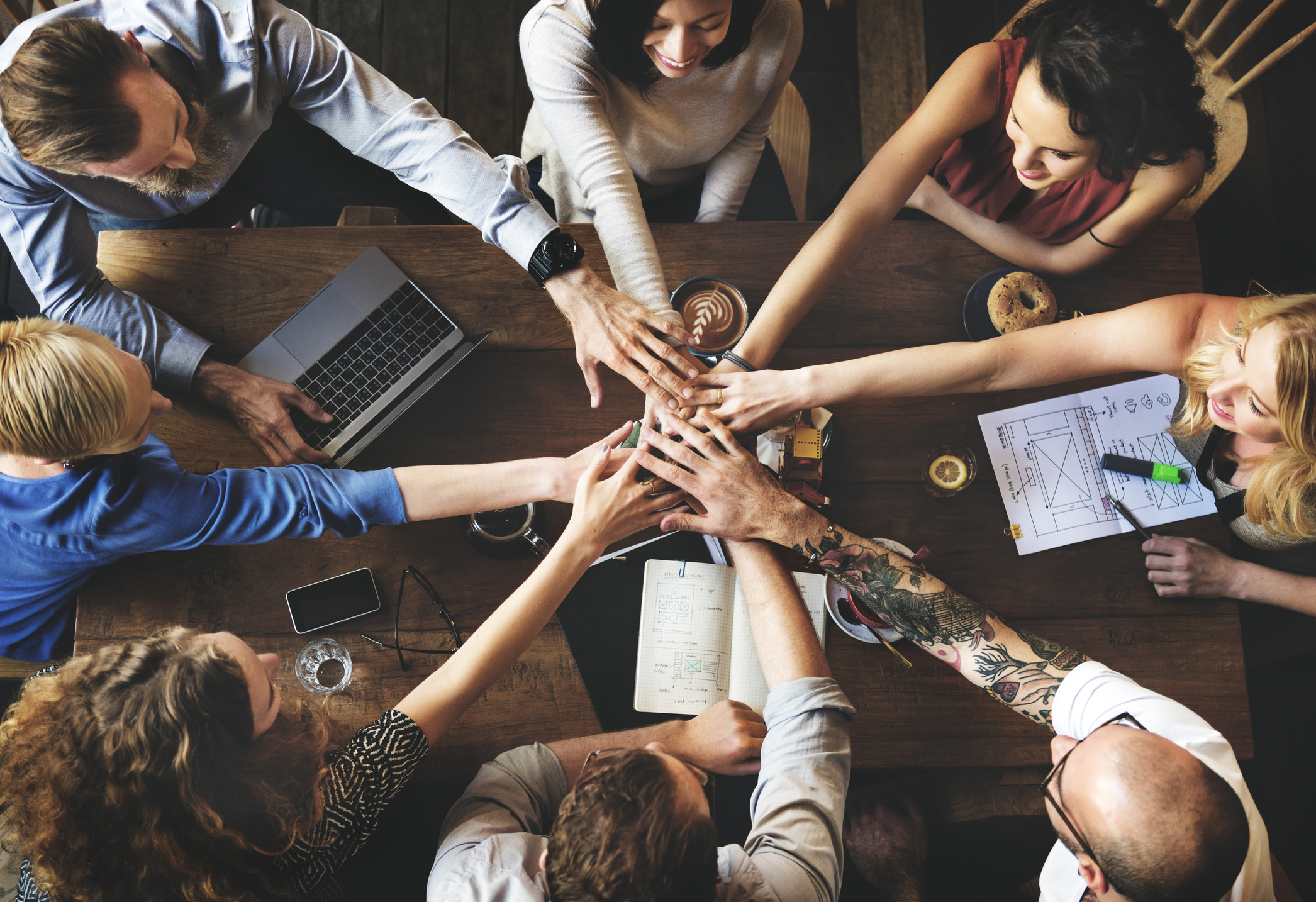 GET THE MOST OUT OF YOUR PEOPLE AND TEAMS -