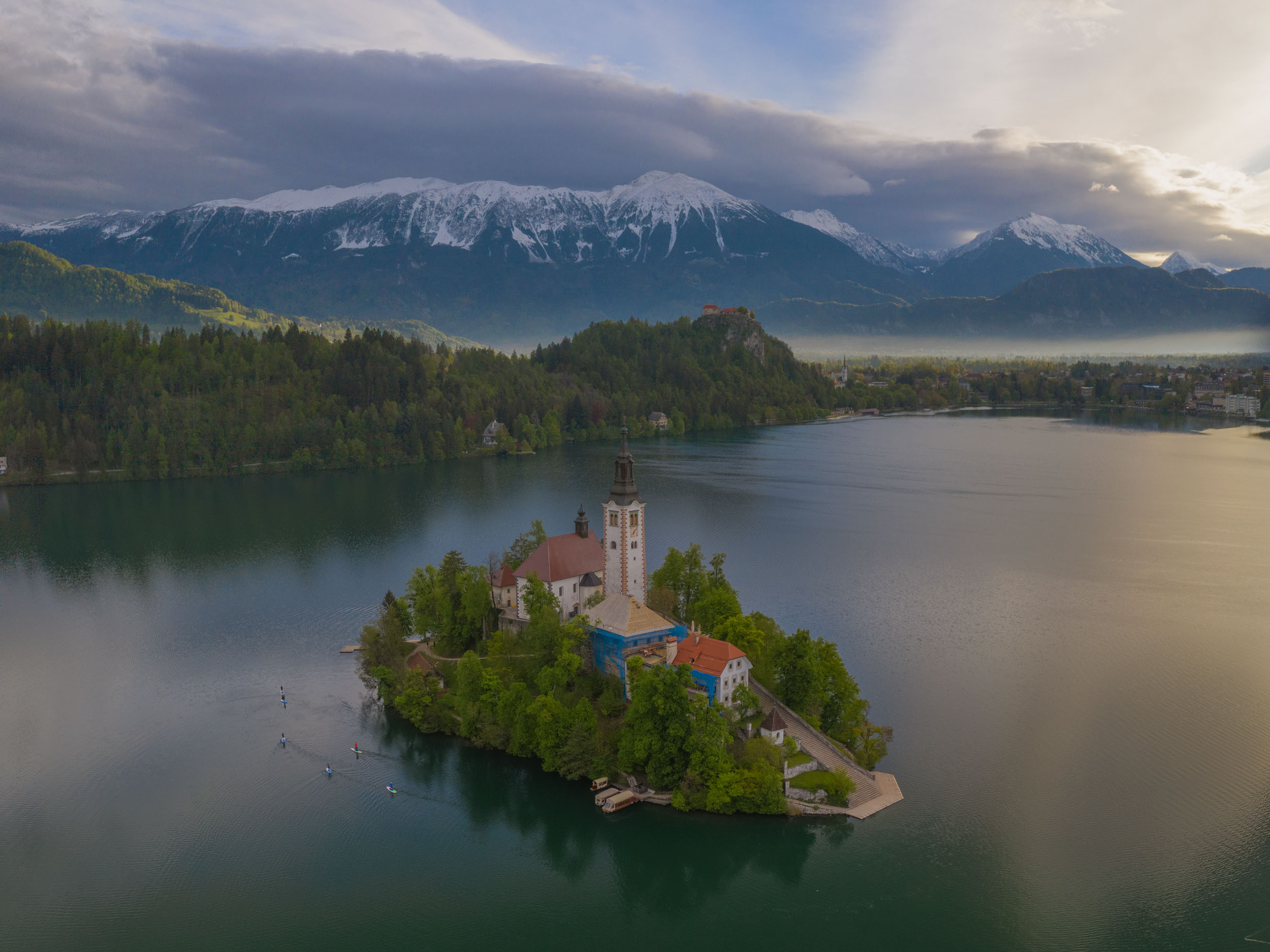 Lake Bled and the Julian Alps, Slovenia