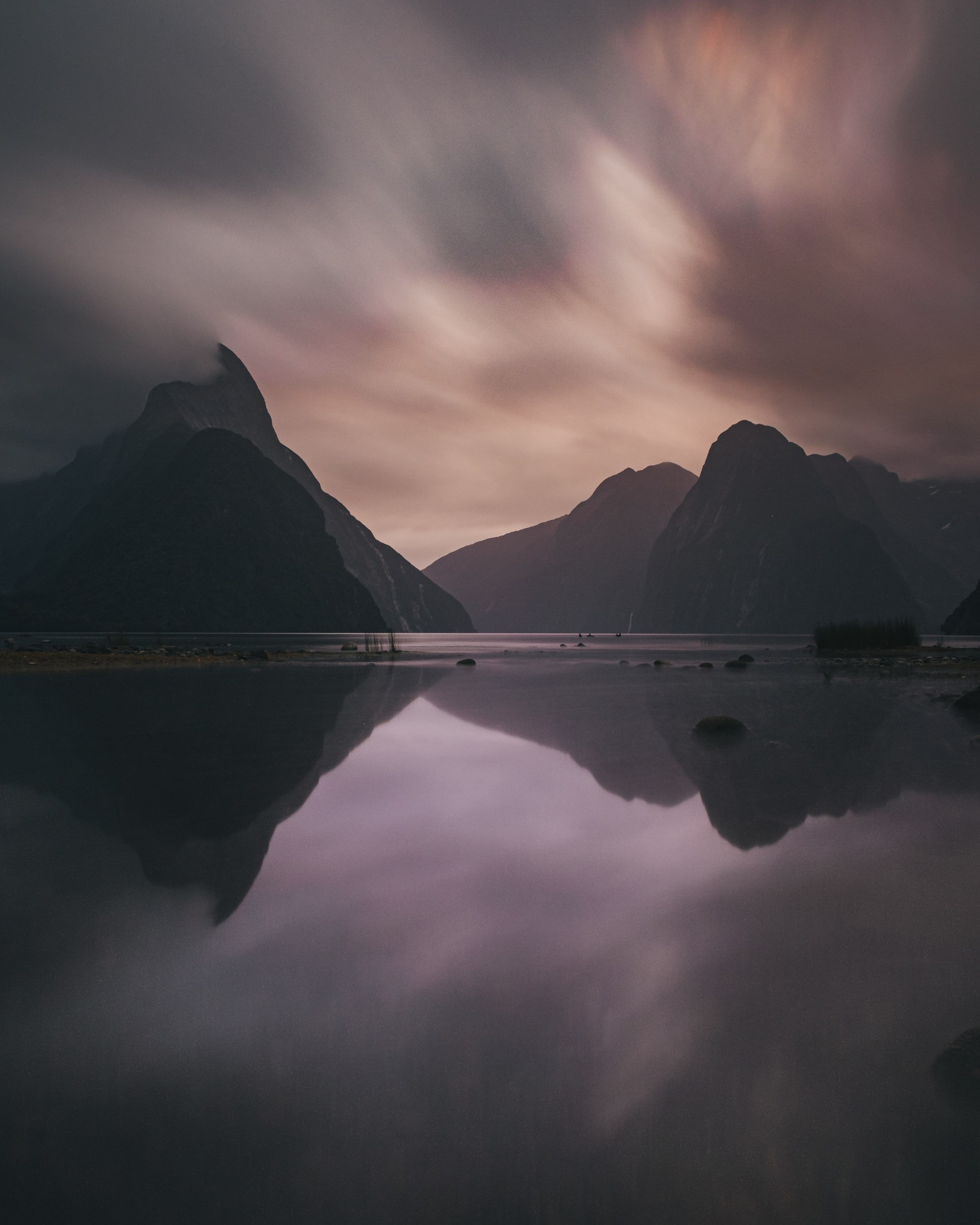 MILFORD SOUND - The wettest inhabited place in New Zealand.