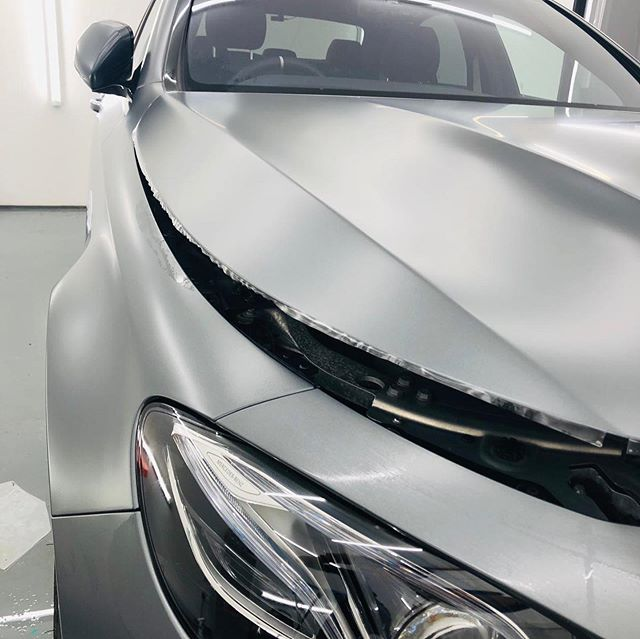 Busy weekend for the guys hard at work on this stunning C63s AMG - Our loyal customer requested a full @xpel.uk Stealth PPF coverage on this exceptional beast!! Can't wait to share with you the finished product! Great work team 🙏🏼🙏🏼