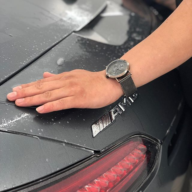 The @pearceprotect team putting in a superb effort on the stunning #Mercedes AMG GTC in for a full @xpel.uk Stealth PPF coverage this week! #LetsGo!!!!