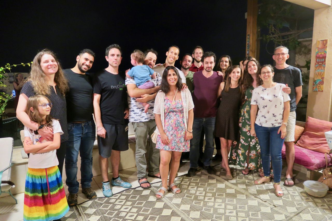Meller lab - Group photo 2019