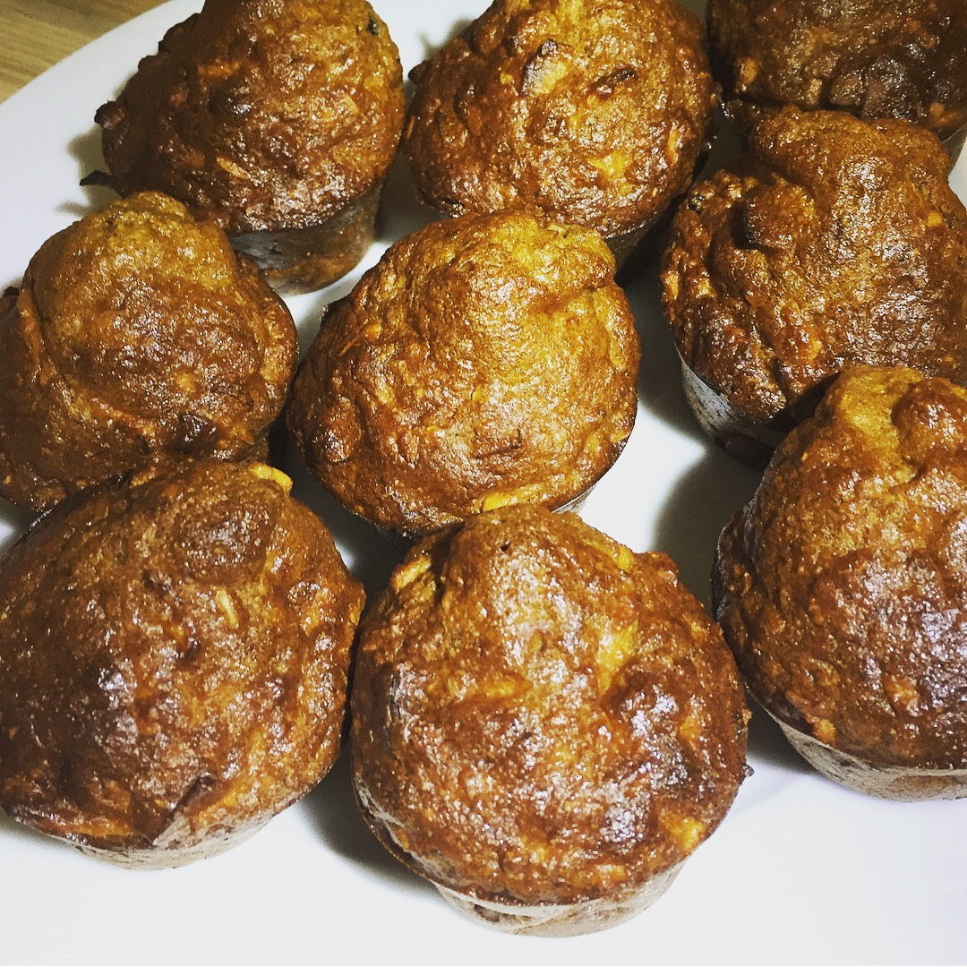 Emma Pooley's Carrot cakelets