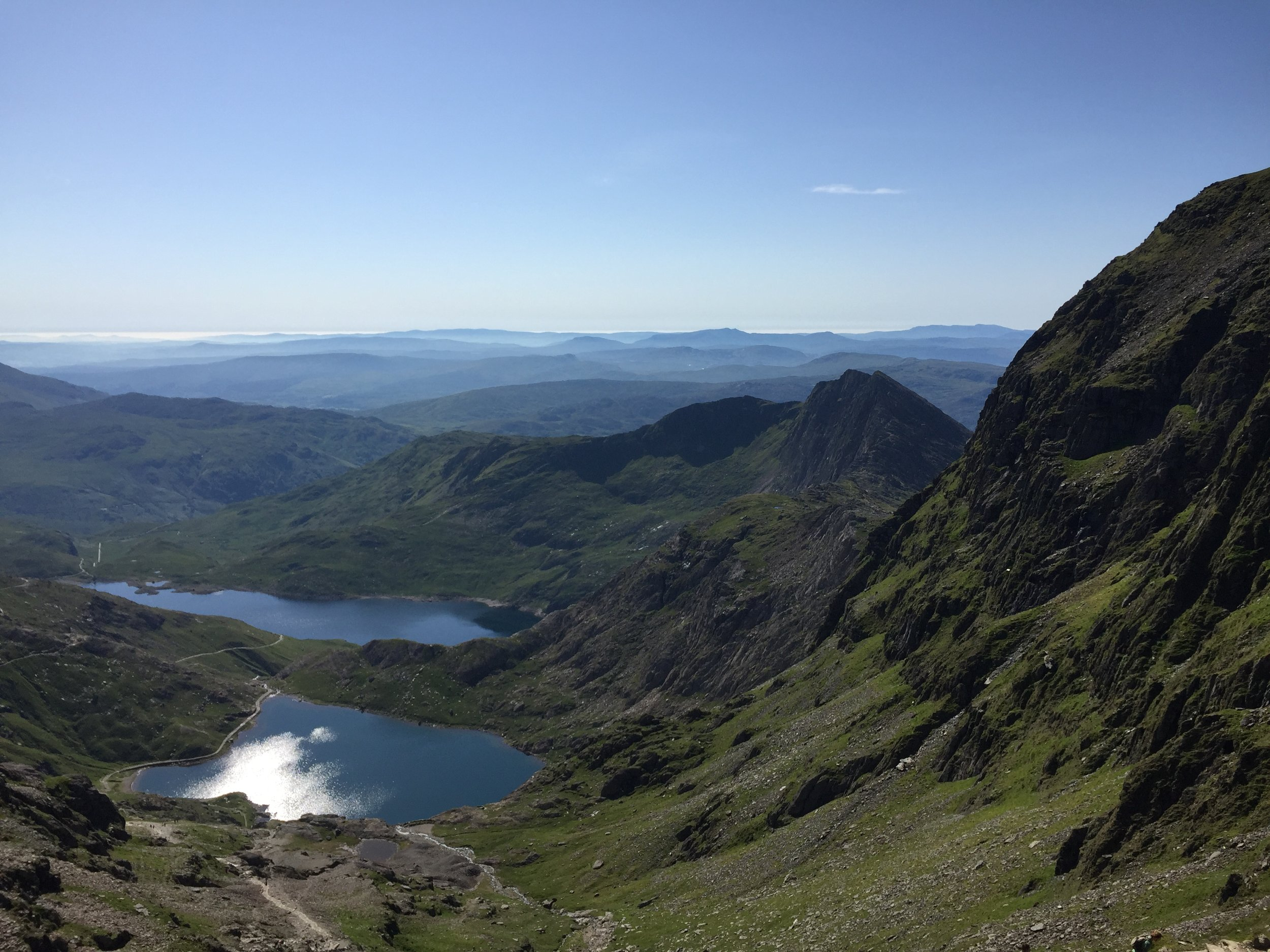 Snowdonia in the sunshine…Could it get much better?