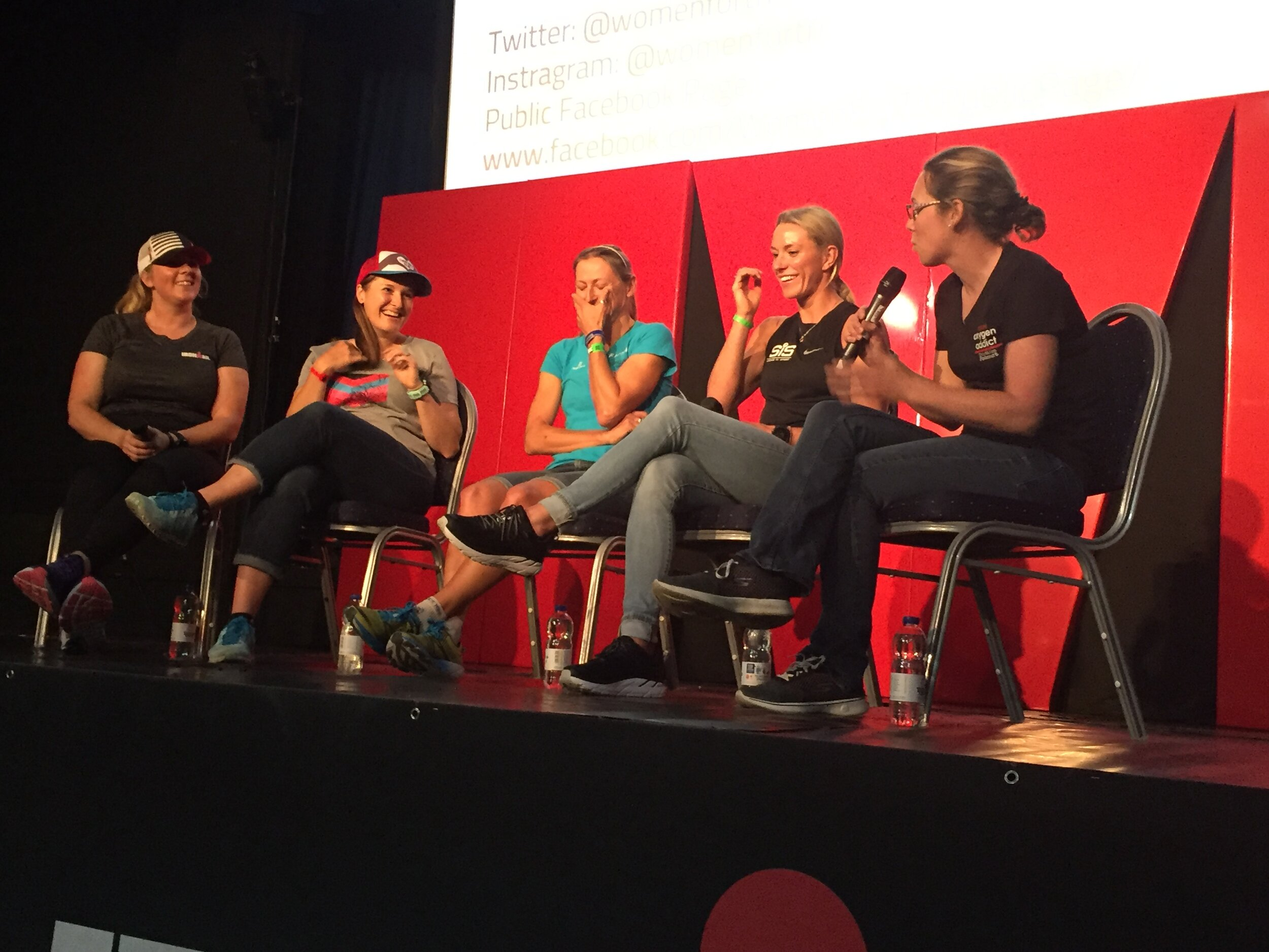 New experiences: Co-hosting the Women for Tri panel ahead of Ironman Wales 2019