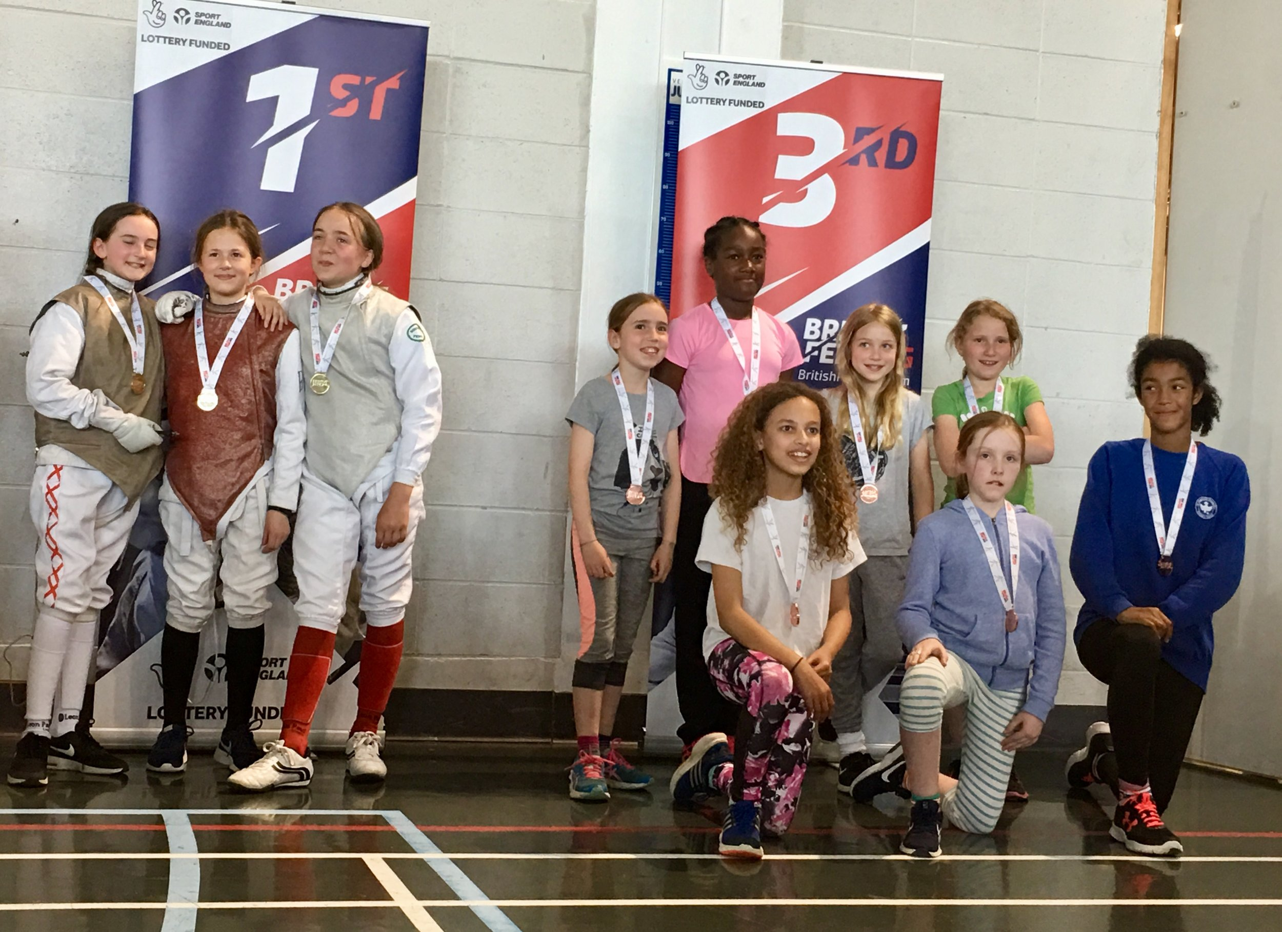 3 of our School Teams taking Gold and 2 Bronzes at the British School Team championships 2018