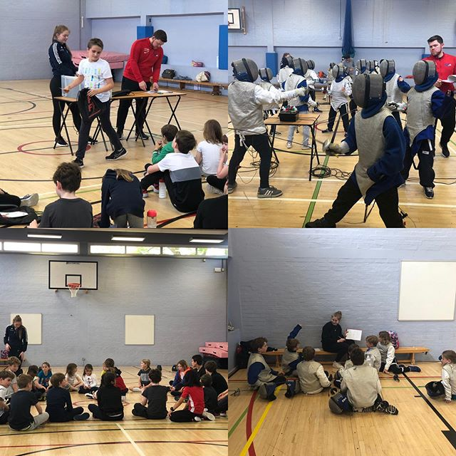 Congrats to all our school & club fencers on passing their @britishfencing achievement awards at various levels:) huge thanks to the parents that came along to support and watch the presentation too :) well done all
