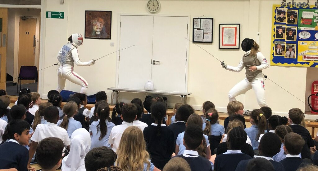 Promote resilience and confidence in your school with our fencing taster day -