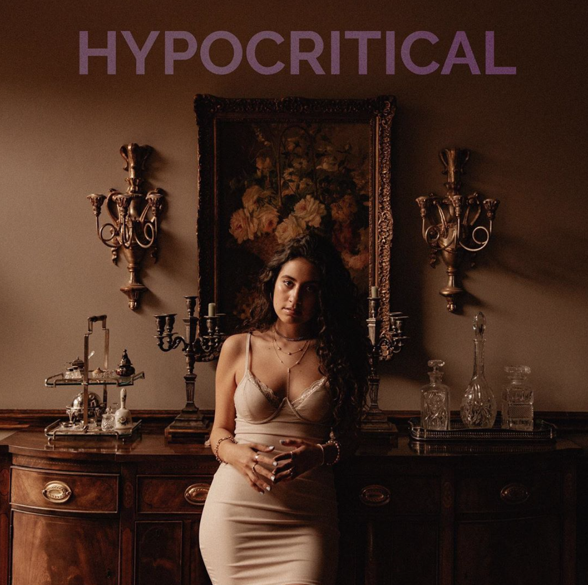 "Click on the artwork to stream ""Hypocritical"""