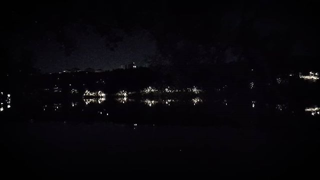 Södermalm in Stockholm by night, from a walk with @williamroos . #asymphonytothevoid #nightworship #night #nature #reflection #water #stockholm