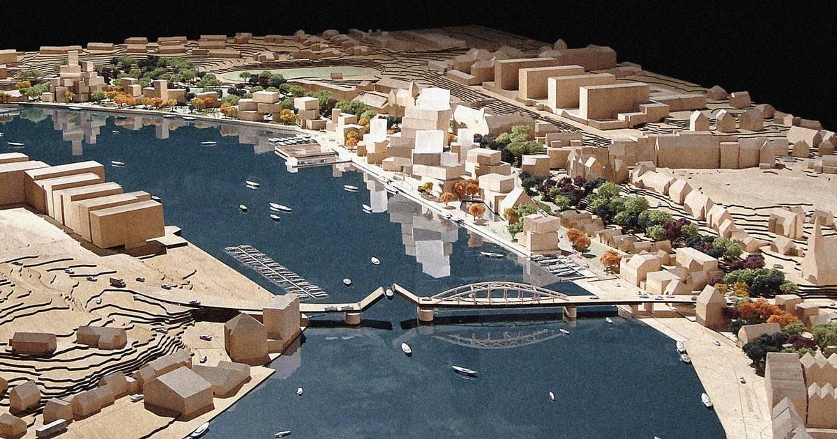 BYENS HAVN i SØNDERBORG    Planen for den tidligere industrihavn blev indledt i 2003, da Statens Kunstfonds Arkitekturudvalg udarbejdede en udviklingsplan for havneområdet.