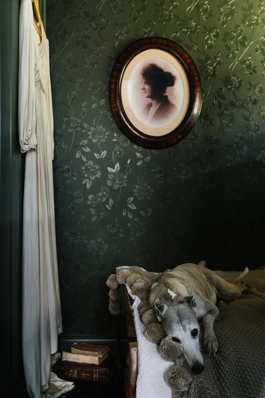 The Nuns Room: A dark & dramatic cabin in Australia | photos by    Sarah Andrews