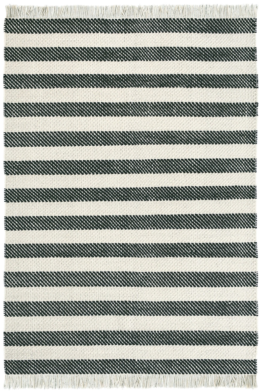 A black and white striped rug is a timeless classic. This one is the    Brink & Campman - Atelier Note Rugs